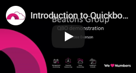 Introduction to Quickbooks Online UK